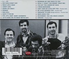 Amazon.com: Frankie Valli, The Four Seasons: Very Best of Frankie Valli and the Four Seasons: Music