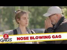 Nose Blowing On Strangers' Money - Just for Laughs Gags - Prank Videos - Joke King Just For Laughs Gags, Prank Videos, Pranks, The Funny, Bring It On, Jokes, Entertaining, Humor, Youtube