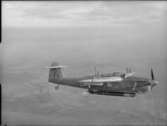 A Fairey Barracuda II (P 9926) from Lee-on-Solent Fleet Air Arm Station, with…