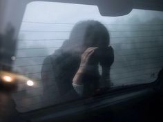 The shadowy figure pressed its face the window, cupping thin hands around its eyes to better see in the vehicle. It stared at the passengers in turn, searchingly, hungrily. No one inside noticed, except one. An icy chill pulled the ten year old from the monotonous dreary landscape outside. She glanced behind her and her heart leapt to her mouth. She froze, stricken. Sunken eyes bore into hers from the back window, headlights from the car behind glowing faintly through its body. Then gone.
