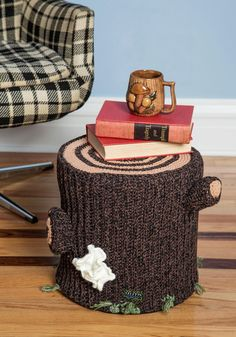 Ring Around the Cozy Stool, #ModCloth