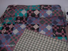 Snowball Quilt, I made for My Son Arthur & Jeanette