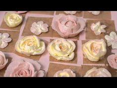 Anleitung Buttercreme Blumen - Torten verzieren mit Buttercreme Rosen | Frau Zuckerfee