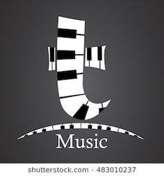 Letter T, Music Class, Company Logo, Logos, Letters, Musik, Logo