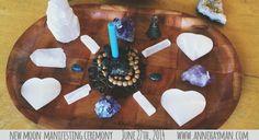 new moon manifesting ceremony 6.14