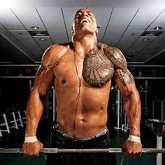 Train Like The Rock: Dwayne Johnson's Shoulder Routine (WWE) Muscle & Fitness Muscle Fitness, Mens Fitness, Fitness Goals, Fitness Tips, Fitness Motivation, Morning Motivation, Motivation Success, Fitness Quotes, The Rock Dwayne Johnson