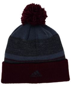 adidas Colorado Rapids Pom Knit - Charcoal/Maroon/Graphite Adjustable