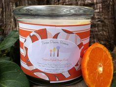 Tangerine Splash Sugar Scrub by ThreePearsBreeze on Etsy, $11.50  Try r new Sugar scrub!!!