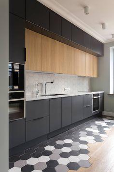 Simple Kitchen Design, Kitchen Pantry Design, Diy Kitchen Storage, Best Kitchen Designs, Stylish Kitchen, Home Decor Kitchen, Interior Design Kitchen, Modern Kitchen Interiors, Modern Kitchen Cabinets