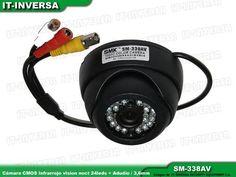 Camara De Seguridad Infrarroja Domo 24leds Cmos Con Audio - BsF 799,00