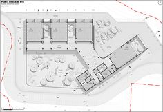 Image 21 of 40 from gallery of Raíces Educational Park / Taller Piloto Arquitectos. Photograph by Juan Manuel Bernal Arias Education Architecture, School Architecture, Architecture Plan, Koshino House, Architecture Concept Diagram, School Plan, Park, School Design, Planer