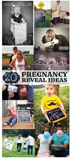 20 Pregnancy Reveal Announcement Ideas - SohoSonnet Creative Living