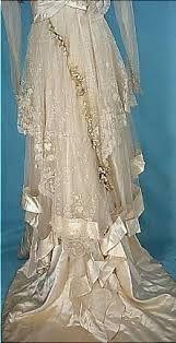 Image result for edwardian wedding dress