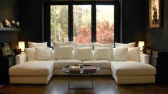 U shaped sofa for the future home