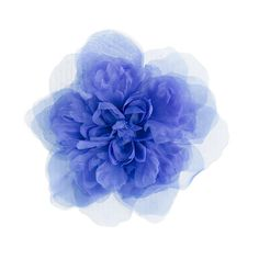 Girls' organza flower pin