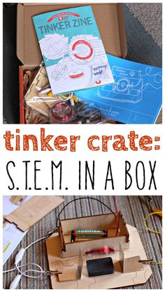 Science and STEM based activity in the mail every month. Great idea for a gift.