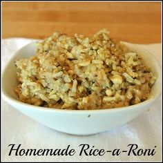 Mom, What's For Dinner?: Homemade Rice-a-Roni
