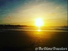 Stunning sunset in Tamarindo, Costa Rica ❤📸😍 Tamarindo, Costa Rica, Sunrise, Travel Photography, Skyline, Culture, Landscape, History, City