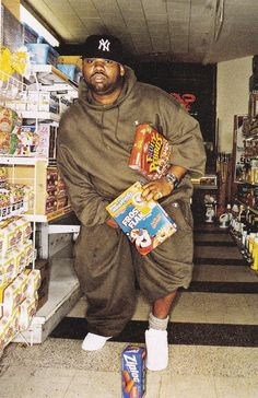 Raekwon shopping for cereal