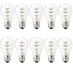 E27 Decoratieve Ledlamp actie 10 stuks