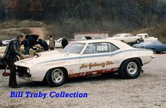 Vintage Drag Racing - Pro Stock - Camaro