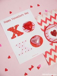 Four #Valentine's Day DIY Cards with Free Printables - learn to craft these pretty cards for celebrating love day, with freebie downloads!