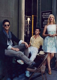 Band of Outsiders- Justin Bartha & Andrew Rannells