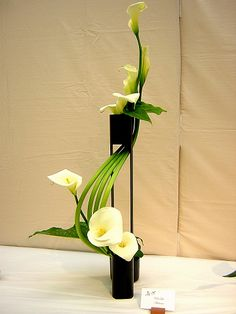 I went to an ikebana exhibit a couple years ago in LA. I had never seen anything like it before. It wasn't until I took my 3-D design cla...