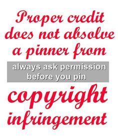 Ask Permission Before You Pin by Los Amigos Del Fuego, via Flickr