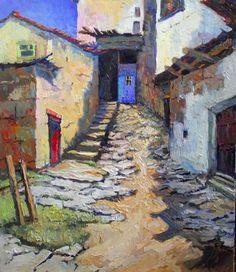 Blue door, Suren Nersisyan