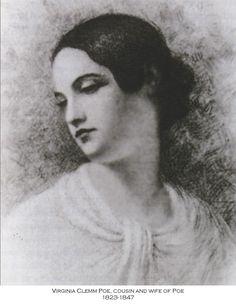Poe's wife Virginia Eliza Clemm Poe