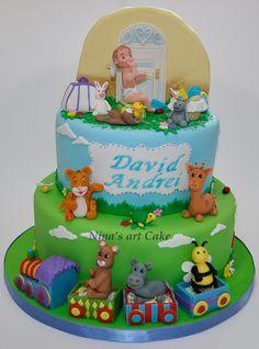 Twins Cake, Cake Art, Birthday Cakes, Desserts, Food, Tailgate Desserts, Deserts, Art Cakes, Essen