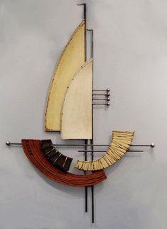 Sea Ceramic wall art διακοσμητικο καραβι | Anastasaki Ceramics