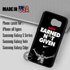 Lebron James Quote - Samsung Galaxy S7 S6 S5 Note 5 Cases & Covers
