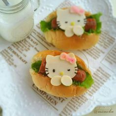 Mini Hotdog Hello Kitty