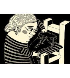 digital print size A3. You can buy this piece here: www.artrebels.com #artrebels #blackandwhite #art