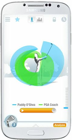 Improve Your Swing, Club Speed & Tempo Golf Swing Analyzer, Golf Apps, Improve Yourself, Ipad, Android, Iphone, Gifts, Presents, Gifs