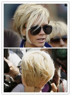 Victoria beckham hairstyle edgy short haircuts, great haircuts, short hairstyles for women, short Short Hair With Layers, Short Hair Cuts For Women, Short Hairstyles For Women, Short Hair Styles, Pixie Hairstyles, Pixie Haircut, Cool Hairstyles, Victoria Beckham Short Hair, Victoria Beckham Hairstyles