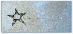 Bim Bum Beta: Stoffa Stampata a Mano * Printed Fabric Hand {Utile(o)Futile - RicicliAmo}