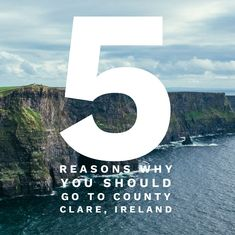 5 reasons to go to County Clare, Ireland. Stuff To Do, Things To Do, Landscaping Around House, County Clare, Ireland Landscape, Road Trip, To Go, Backyard, Explore