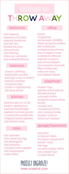 A great list of item
