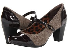 Clarks Sapphire Stel Brown Fabric - Zappos.com Free Shipping BOTH Ways