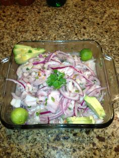"Peruvian Ceviche Recipe ""Better than sushi"""