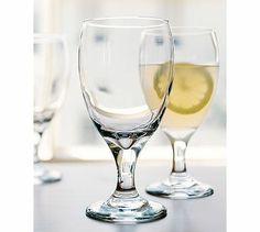 Love these for a fancy water glass (or sangria could be fab too).