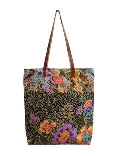 Tina Tote Bag Batik Black