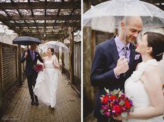Rainy day wedding at Inn on the Twenty