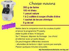 Cheese naans au companion