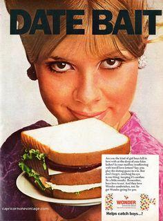 1968 wonder bread magazine ad