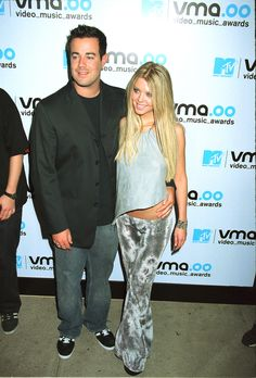 Tara Reid and Carson Daly were dating. Funny. | Tara Reid and Carson Daly were dating. Funny.