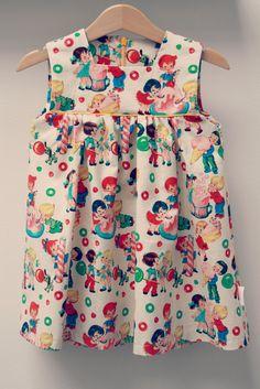 DIY - sew - patroon LARA zelfgemaakte kleertjes
